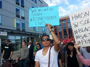 2015 - Marching in solidarity with Baltimore in Minneapolis Rise Up and Shut It Down.