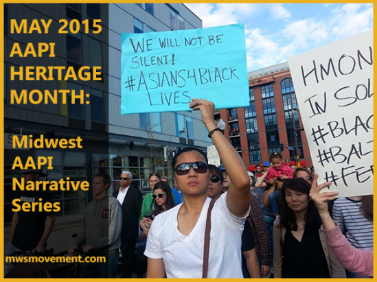 We Will Not Be Silent - #Asians4BlackLives MWSM marching in MN Rise Up & #ShutItDown with Baltimore